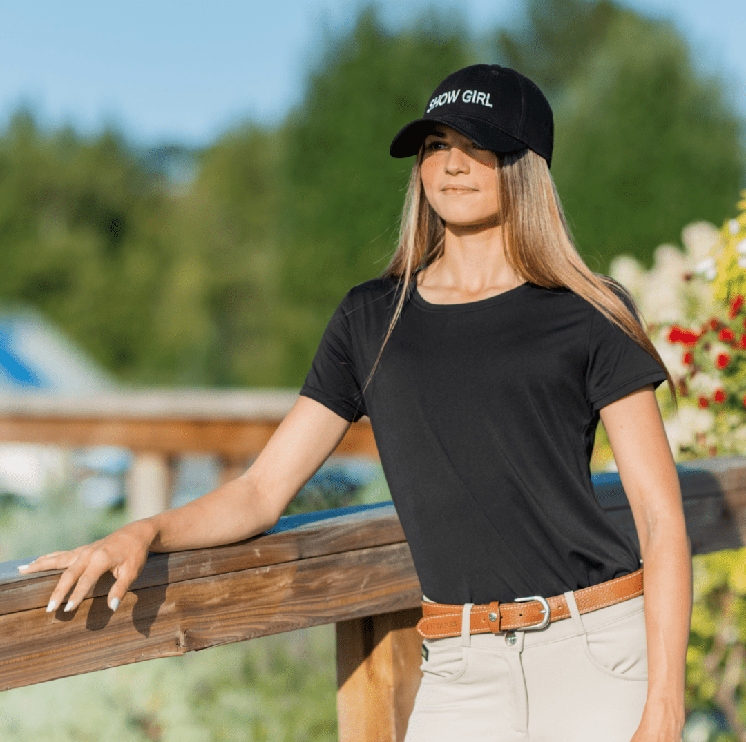 TKEQ Women's Casual Shirt TKEQ Essential Tee - Black equestrian team apparel online tack store mobile tack store custom farm apparel custom show stable clothing equestrian lifestyle horse show clothing riding clothes horses equestrian tack store