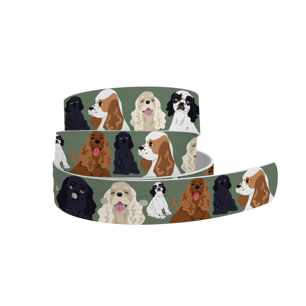 C4 Belts Belt Cocker Spaniel Belt by C4 equestrian team apparel online tack store mobile tack store custom farm apparel custom show stable clothing equestrian lifestyle horse show clothing riding clothes horses equestrian tack store