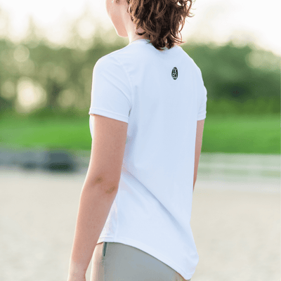 TKEQ Women's Casual Shirt TKEQ Essential Tee - White equestrian team apparel online tack store mobile tack store custom farm apparel custom show stable clothing equestrian lifestyle horse show clothing riding clothes horses equestrian tack store