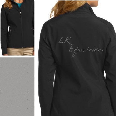 Equestrian Team Apparel Custom Team Jackets Ladies / XS LK Equestrian Softshell Jacket equestrian team apparel online tack store mobile tack store custom farm apparel custom show stable clothing equestrian lifestyle horse show clothing riding clothes horses equestrian tack store