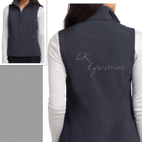 Equestrian Team Apparel Custom Team Jackets Ladies / XS LK Equestrian Softshell Vest equestrian team apparel online tack store mobile tack store custom farm apparel custom show stable clothing equestrian lifestyle horse show clothing riding clothes horses equestrian tack store