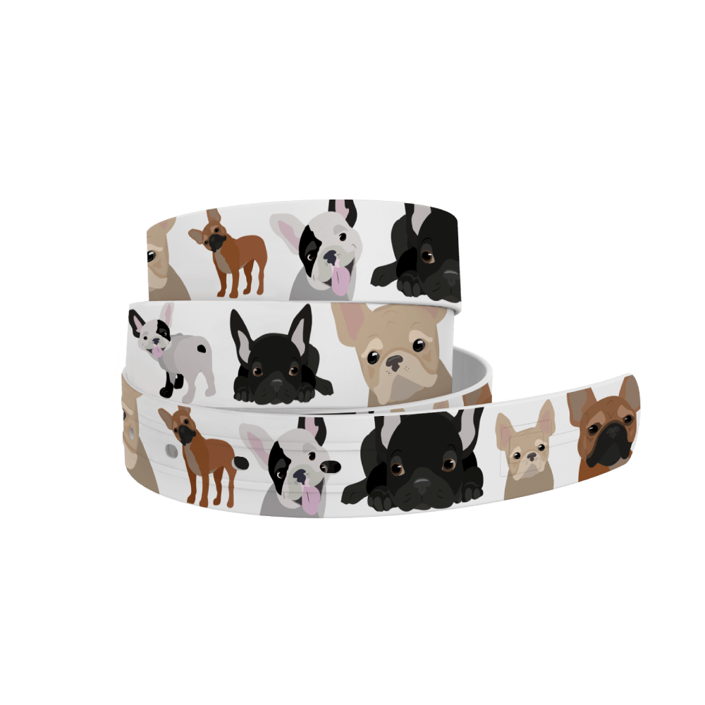 C4 Belts Belt French Bulldog Belt by C4 equestrian team apparel online tack store mobile tack store custom farm apparel custom show stable clothing equestrian lifestyle horse show clothing riding clothes horses equestrian tack store