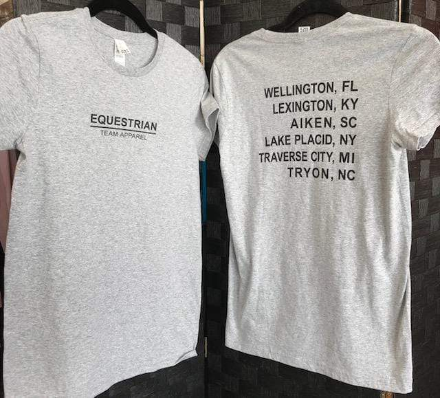 Equestrian Team Apparel Graphic Tees XS ETA Tour Graphic Tee - ETA equestrian team apparel online tack store mobile tack store custom farm apparel custom show stable clothing equestrian lifestyle horse show clothing riding clothes horses equestrian tack store