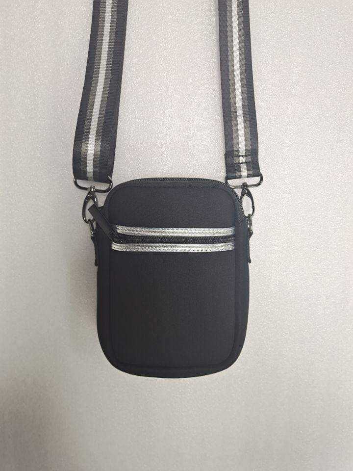 Haute Shore Bags Stealth Casey Cell Phone Crossbody equestrian team apparel online tack store mobile tack store custom farm apparel custom show stable clothing equestrian lifestyle horse show clothing riding clothes horses equestrian tack store