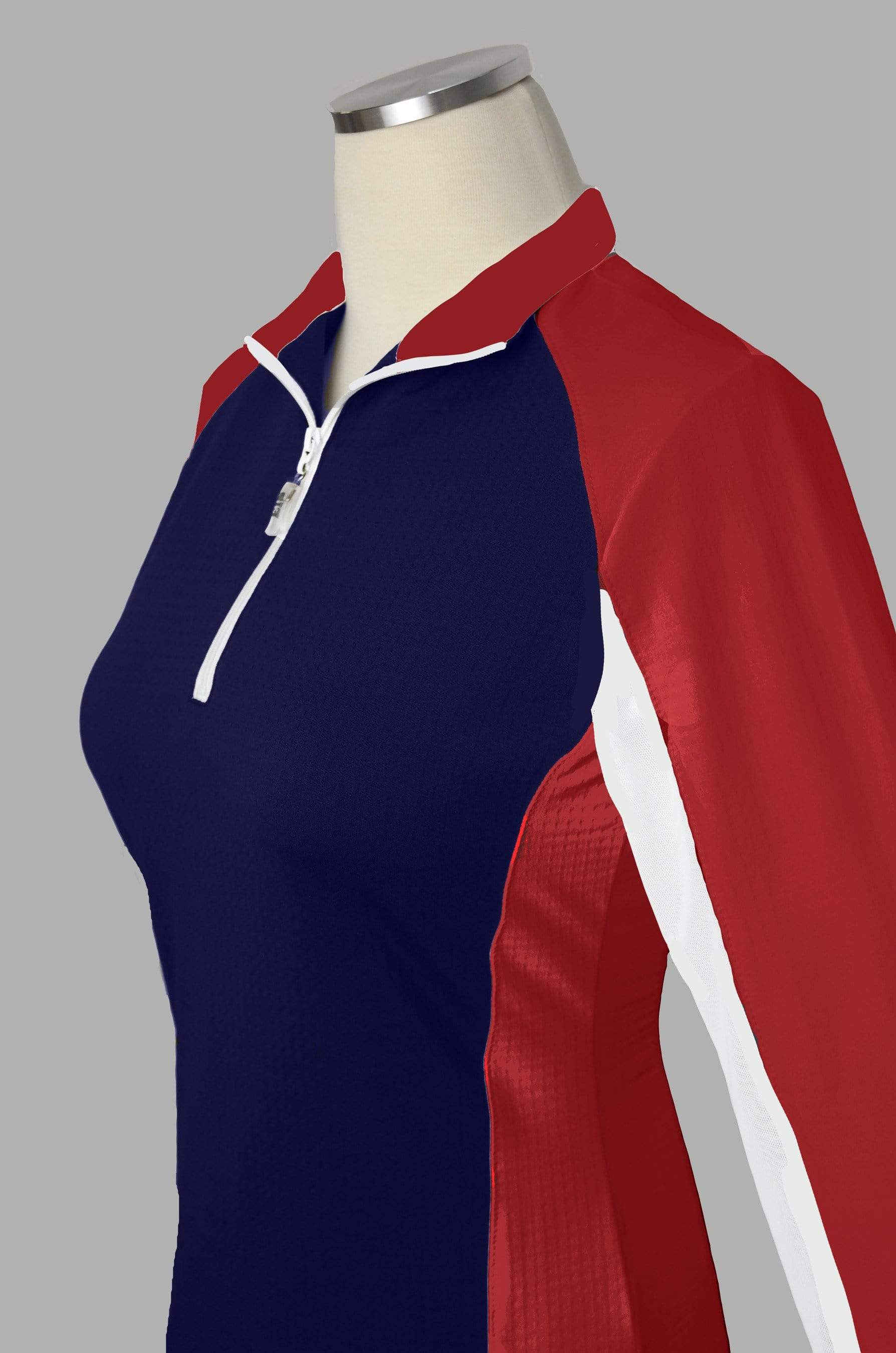 EIS Sunshirt XS Olympic Women's Long Sleeve equestrian team apparel online tack store mobile tack store custom farm apparel custom show stable clothing equestrian lifestyle horse show clothing riding clothes Wear a flattering sunshirt when you ride | made in the USA horses equestrian tack store