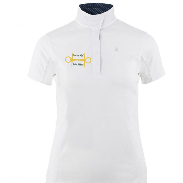 Equestrian Team Apparel Show Shirt Women's Boyson Hill Show Shirt - Short-Sleeved equestrian team apparel online tack store mobile tack store custom farm apparel custom show stable clothing equestrian lifestyle horse show clothing riding clothes horses equestrian tack store