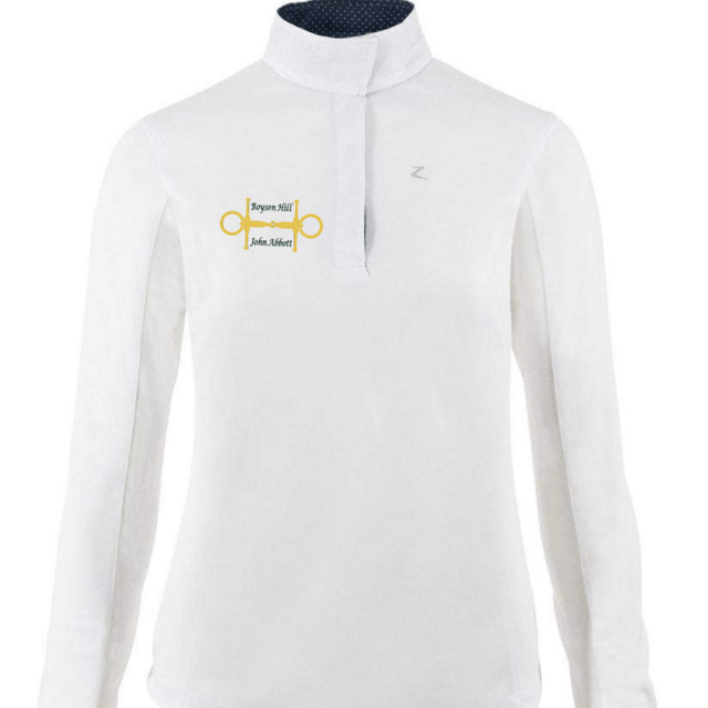 Horze Sunshirt Women's Boyson Hill Show Shirt - Long-Sleeved equestrian team apparel online tack store mobile tack store custom farm apparel custom show stable clothing equestrian lifestyle horse show clothing riding clothes horses equestrian tack store