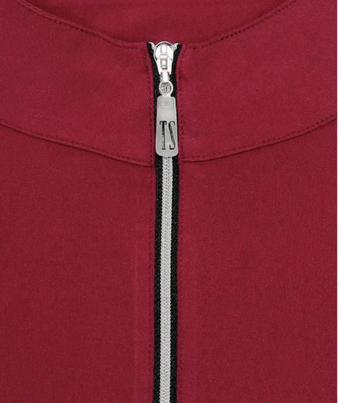 Tailored Sportsman Women's Shirt Claret Long Sleeve Sun Shirt equestrian team apparel online tack store mobile tack store custom farm apparel custom show stable clothing equestrian lifestyle horse show clothing riding clothes horses equestrian tack store