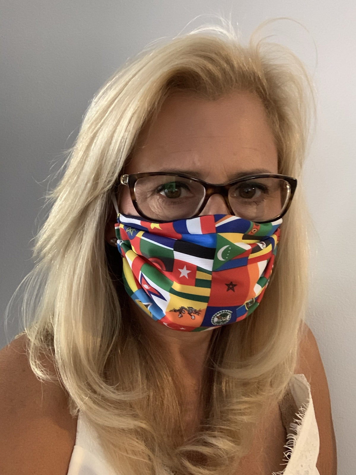 Face Mask International Flag