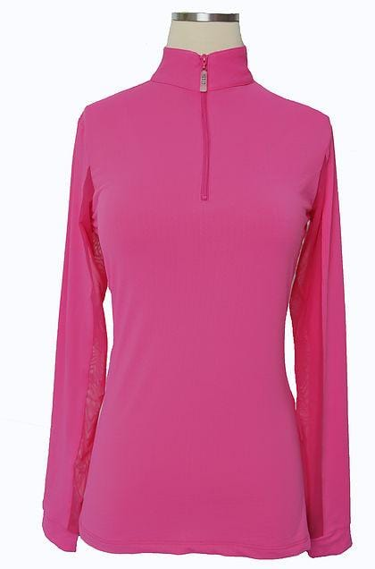EIS Sunshirt EIS Lipstick Womens Long Sleeve equestrian team apparel online tack store mobile tack store custom farm apparel custom show stable clothing equestrian lifestyle horse show clothing riding clothes Wear a flattering sunshirt when you ride | made in the USA horses equestrian tack store