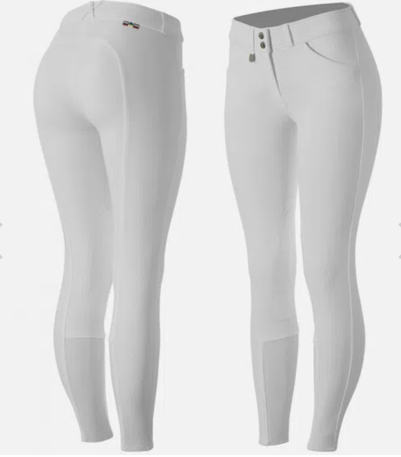 Horze Breeches Horze Women's Grand Prix Knee Patch Breeches - Silicone Patches equestrian team apparel online tack store mobile tack store custom farm apparel custom show stable clothing equestrian lifestyle horse show clothing riding clothes horses equestrian tack store