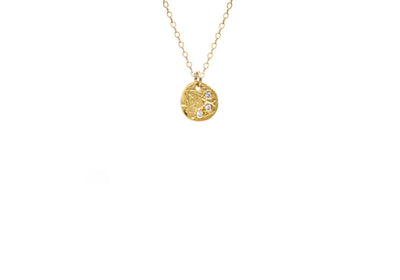 Mini Coin Necklace