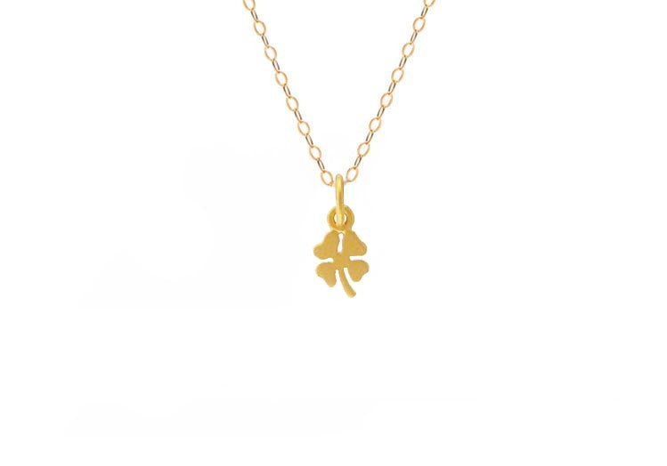 Mini Lucky Clover Necklace