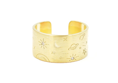 Cosmos Band Ring
