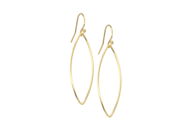 Ellipse Drop Earrings