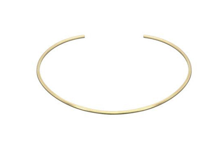 Simple Gold Choker