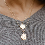 Ancient Coin Necklace Set