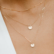 Dainty Dot Necklace Set