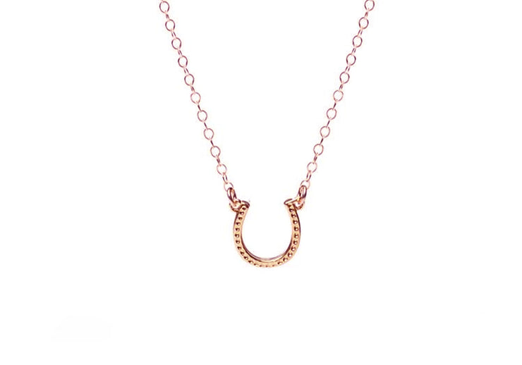 Lucky Horseshoe Necklace