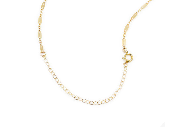 Lace Chain Lariat Necklace