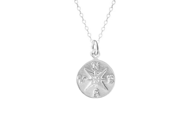 Mini Compass Necklace