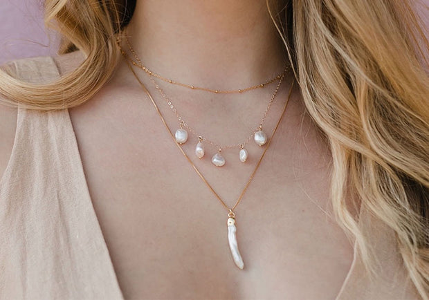 Ocean Drops Necklace