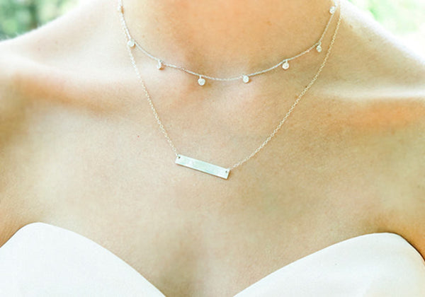 Bridesmaid Personalized Necklace