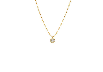 Everyday Solitaire Necklace