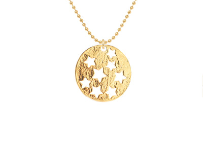 Stargazer Medallion Necklace