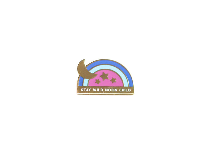 Moon Child Pin