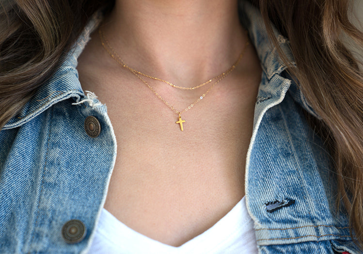 small elegant necklace tiny gold nec pendant delicate necklaces square