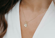 Maria Coin Necklace