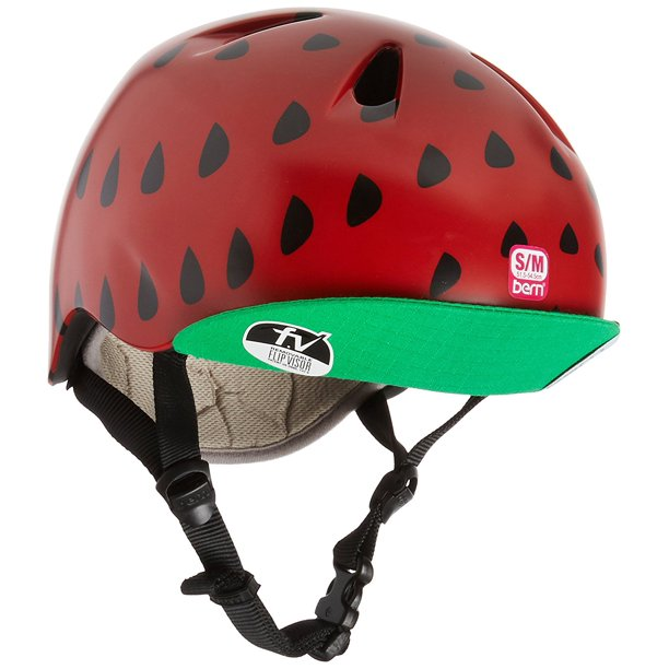 Casco - Bern Satin Red Strawberry w/ Flip Visor