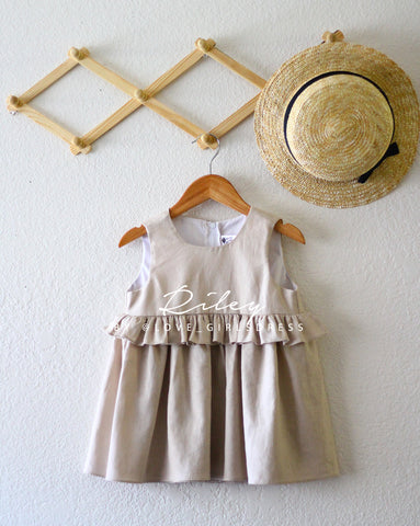 Summer Linen Dress 'Riley'
