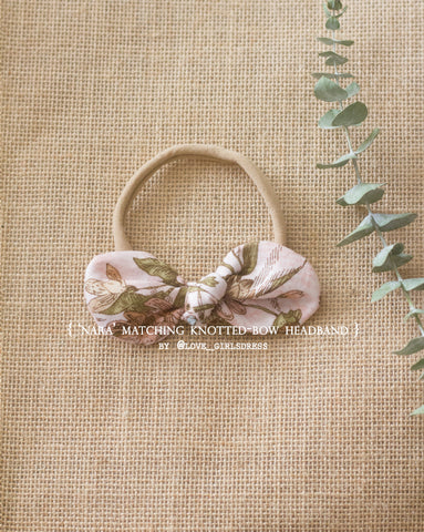 Limited Nara Matching Knotted Bow Headband