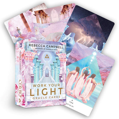 Work Your Light Oracle Card Deck by Rebecca Campbell