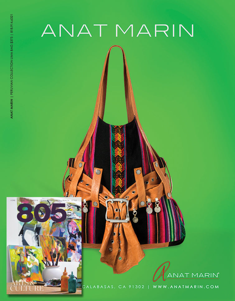 805 Living MAgazine - Anat Marin Peruvian Handbag Collection
