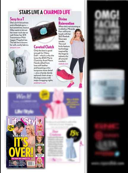 Life & Style Magazine - Coveted Clutch Marie Leather Wallet/Clutch