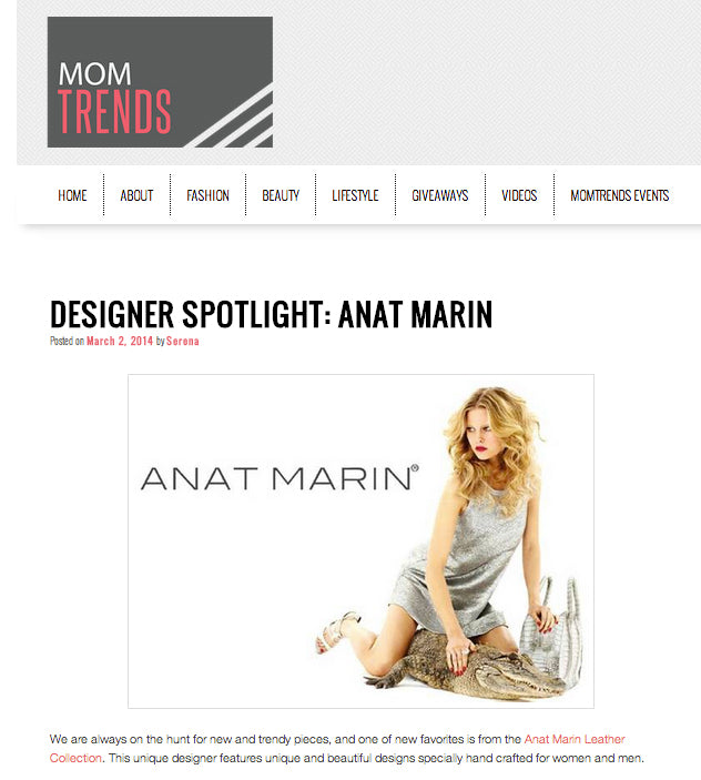 Mom Trends Fashion Blog - Anat Marin