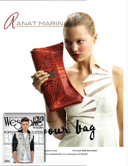 Westlake Magazine - Justin Bieber cover - Anat Marin collection in Calabasas
