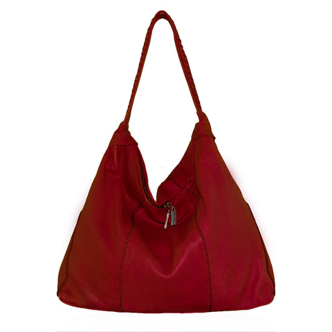 Verona Shoulder Bag in Red