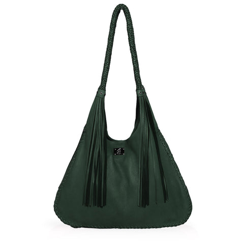 Ferrara Shoulder Bag in Forrest Green