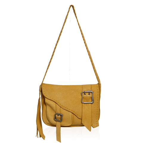 Salerno Crossbody Bag in Yellow