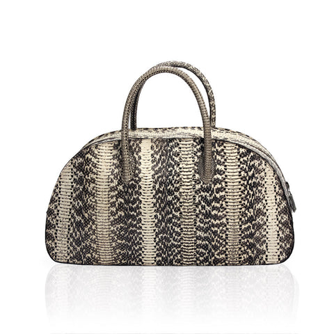 Vitoria Medium Water Snake Bag in Carinata