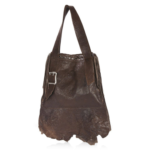 Novara Shoulder Bag in Chocolate