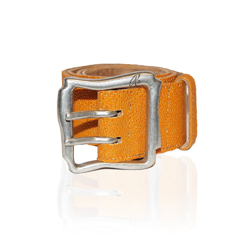 Alessandria Stingray Belt in Orange