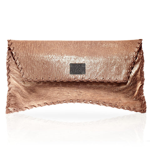 Bella Clutch in Rose Gold