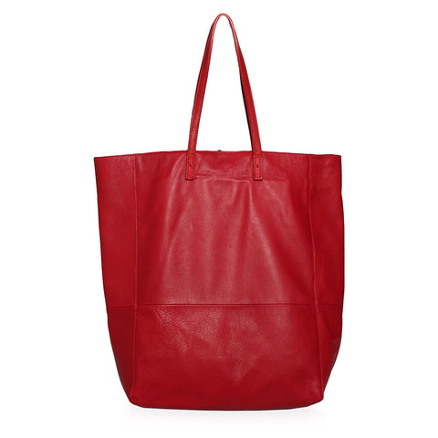 Zuma Tote Bag in Red