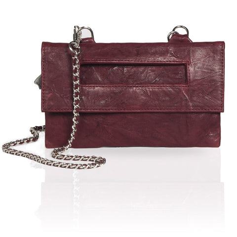 Capri 3-Way Pouch in Burgundy