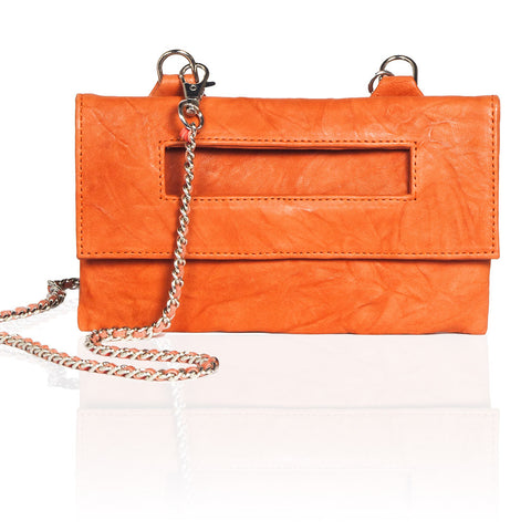 Capri 3-Way Pouch in Orange